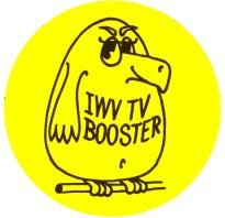 IWV TV Booster Bird Logo